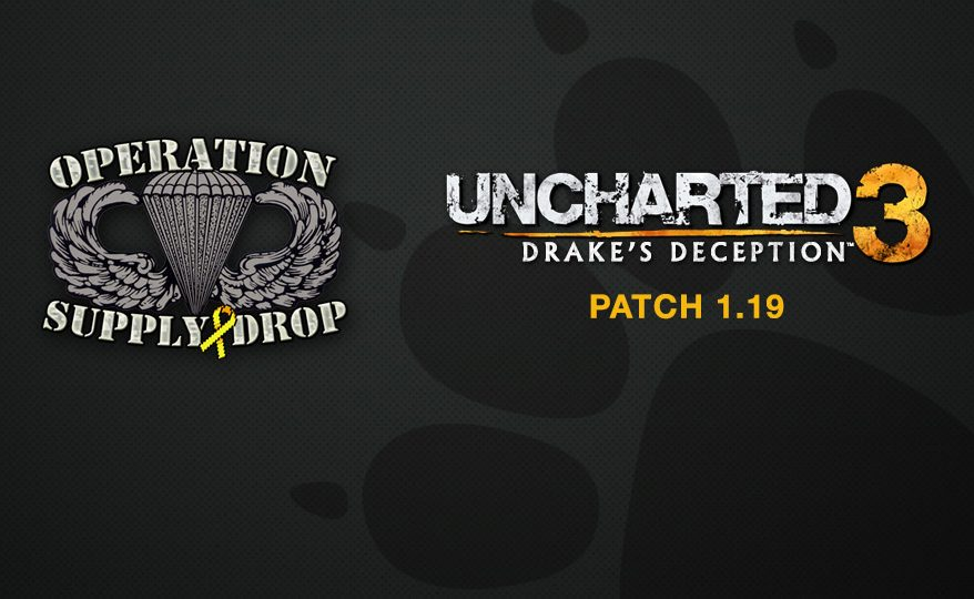 Uncharted 3 Patch 1.19, Operation Supply Drop's 8-Bit Salute
