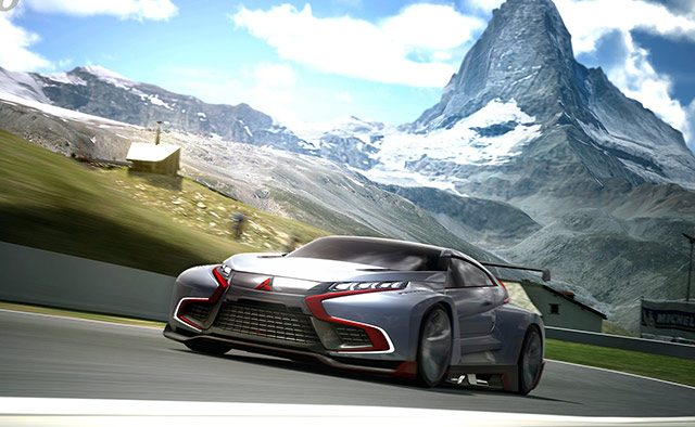 GT6 Update 1.08 Brings Mitsubishi Vision GT and Senna Tribute