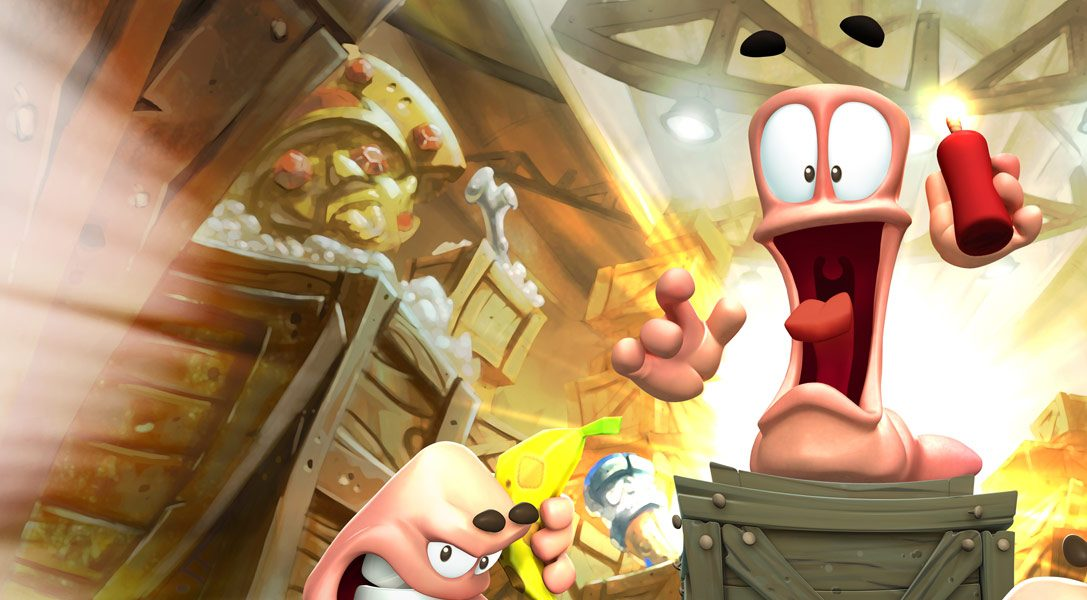 Worms Battlegrounds takes the fight to PS4 this month