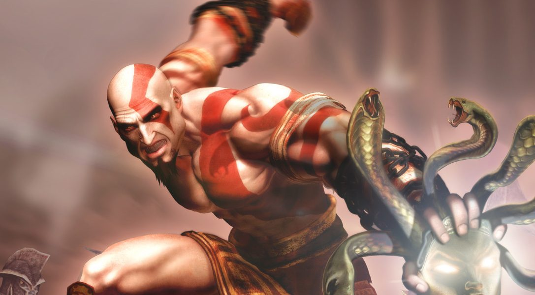 God of War Collection arrives on PS Vita this week