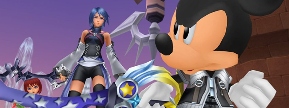 Kingdom Hearts HD 2.5 ReMIX release date and E3 trailer!