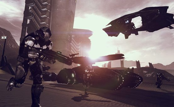 DUST 514 Mercenary Pack Out Today on PSN, Grants Beta Access Thursday