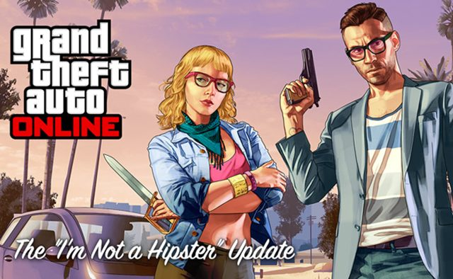 """GTA Online: """"I'm Not a Hipster"""" Update is Live"""