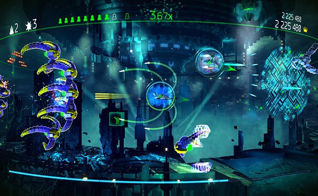 Resogun Update Out Tomorrow: Ship Editor, Local Co-op, More Trophies