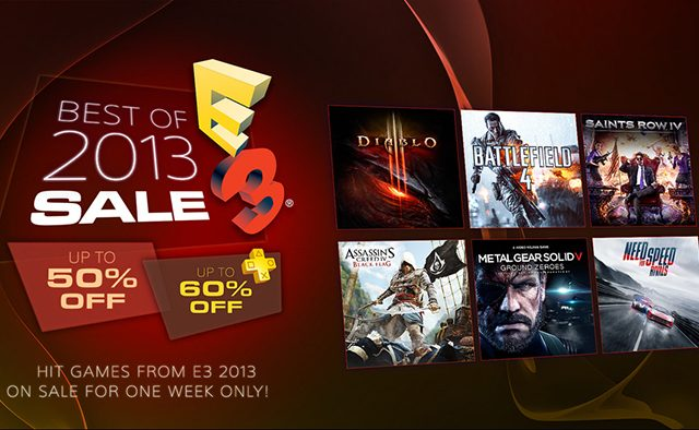 Best of E3 2013 Sale: 20 Games on Sale Starting Tomorrow