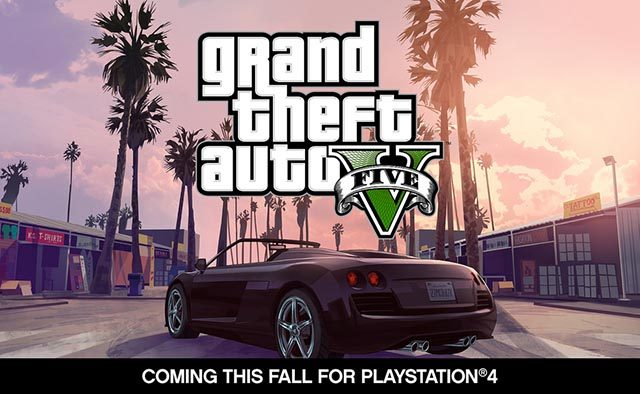 Grand Theft Auto V Coming this Fall to PS4