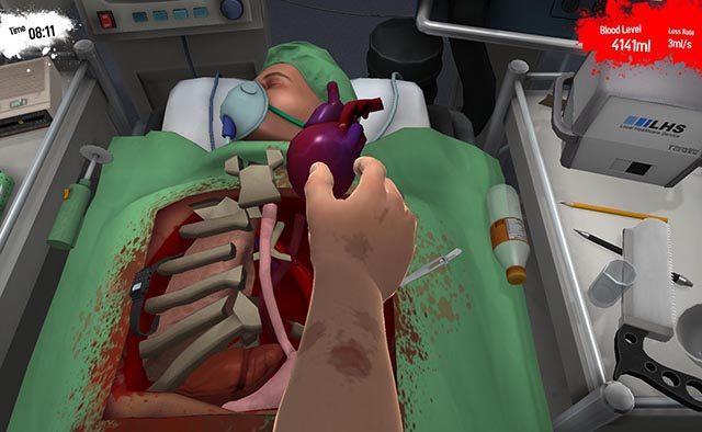 Surgeon Simulator Coming to PS4