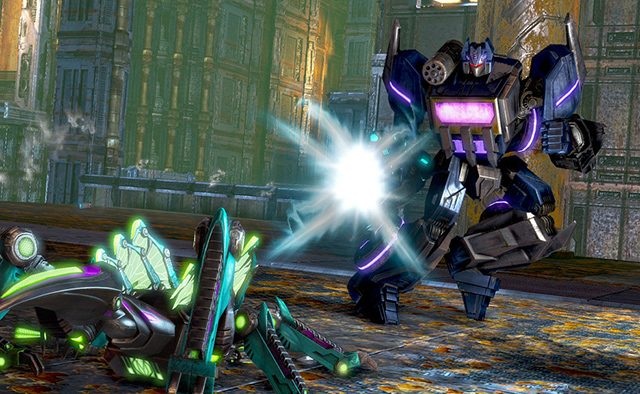 Bridging Generations in Transformers: Rise of the Dark Spark on PS4 and PS3