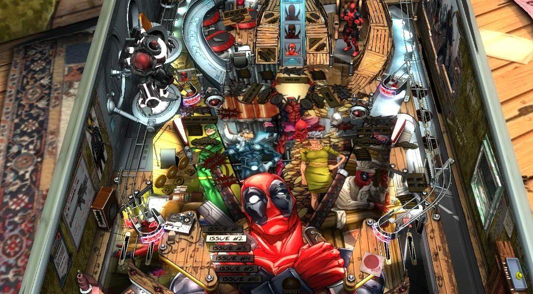 Deadpool comes to Zen Pinball 2 next week