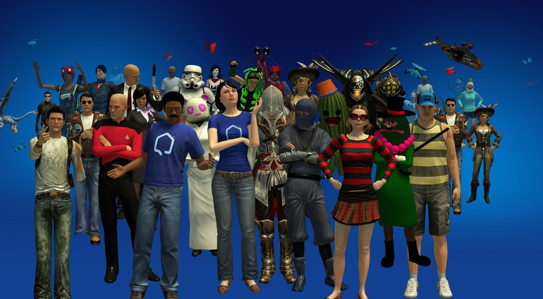 PlayStation Home Update: Party like it's 1979
