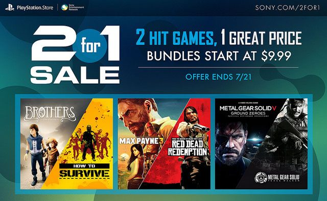 2-for-1 Sale: 11 Two-Game Bundles on Sale This Week
