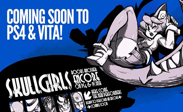Skullgirls Encore Coming to PS4 and PS Vita in 2014
