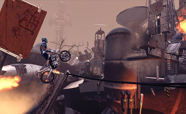 Trials Fusion: Riders of the Rustlands DLC on PS4 Today