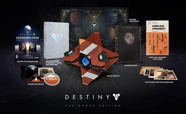 First Look: Destiny Collectors' Editions