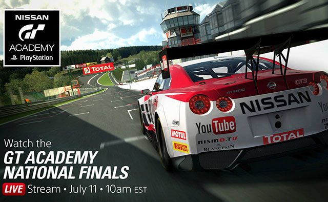 Watch the GT Academy Nationals Live Today