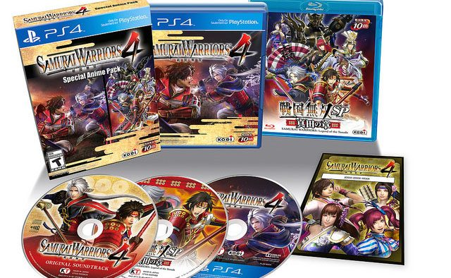 Samurai Warriors 4, Special Anime Pack Coming to PS4 10/21