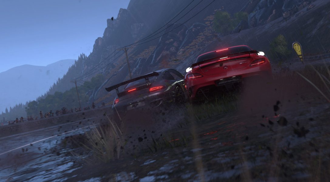 Your first look at DRIVECLUB's dynamic weather in action