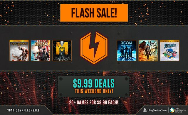 Flash Sale: More than 20 Games, $10 each