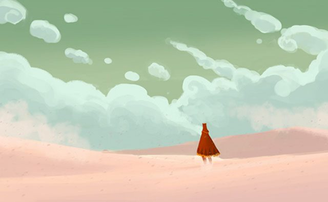 Journey and The Unfinished Swan Coming to PS4