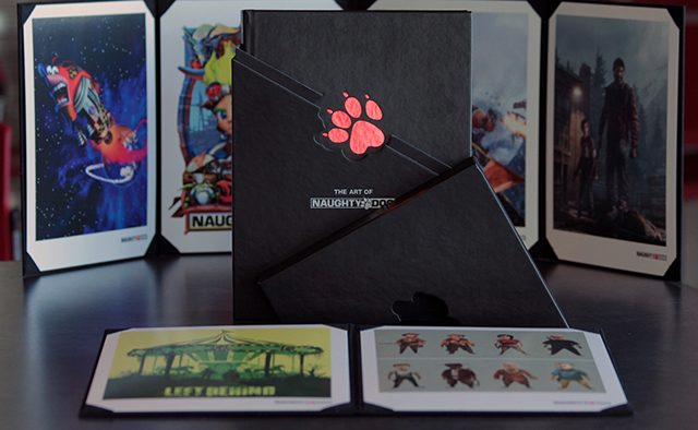 Naughty Dog at PAX Prime 2014, Limited Edition Art Book Details
