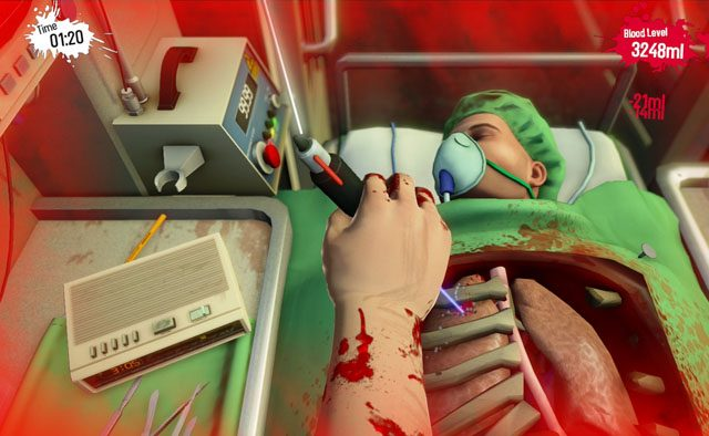 Surgeon Simulator Out Now on PS4, Gets Co-op Play