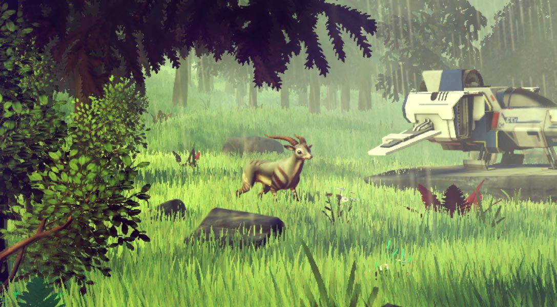 Exploring the 18,446,744,073,709,551,616 planets of No Man's Sky