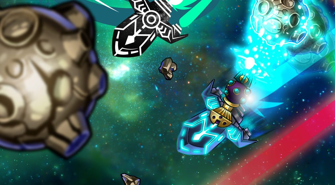In Space We Brawl promises couch co-op chaos on PS3 & PS4