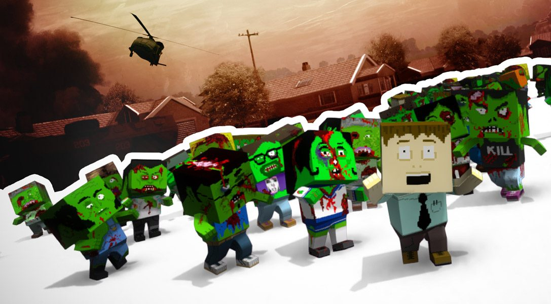 Control the undead in The Hungry Horde on PS Vita