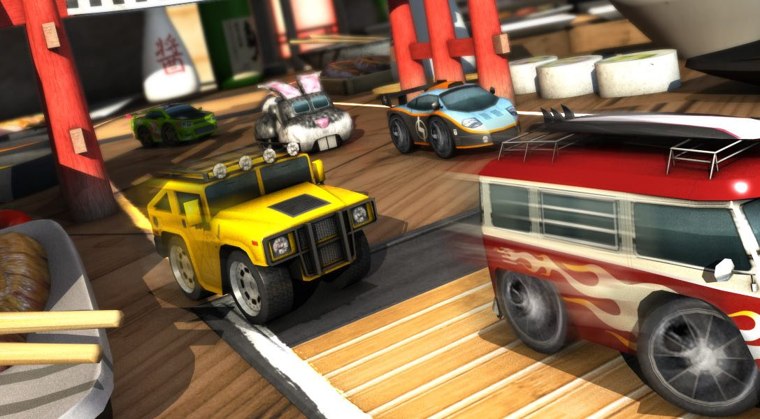 Table Top Racing roars onto PS Vita tomorrow, watch the launch trailer