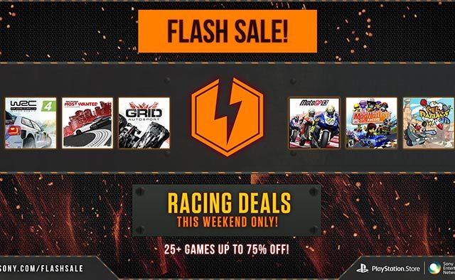 Flash Sale: 25+ Racing Games on Sale Now