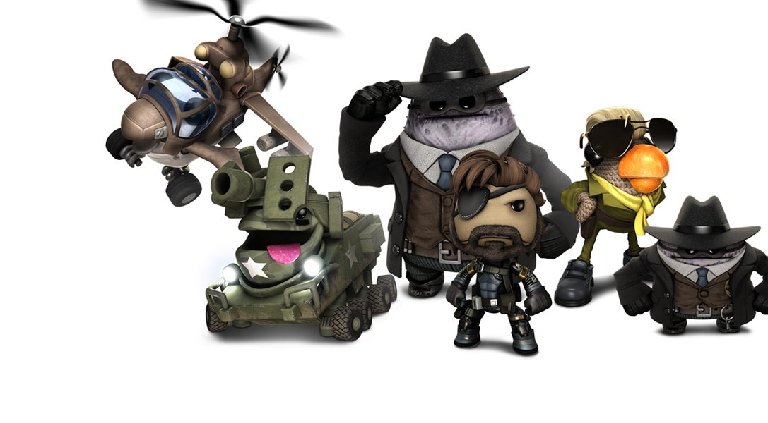 Metal Gear Solid: Ground Zeroes and The Order: 1886 coming to LBP3!