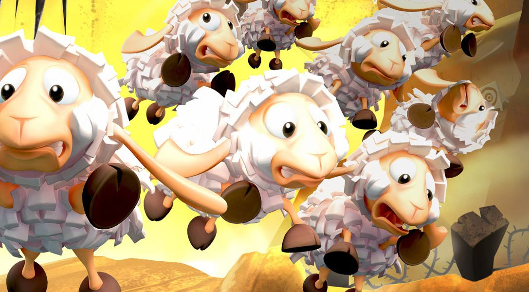 Flockers, from the creators of Worms, arrives on PS4 next week