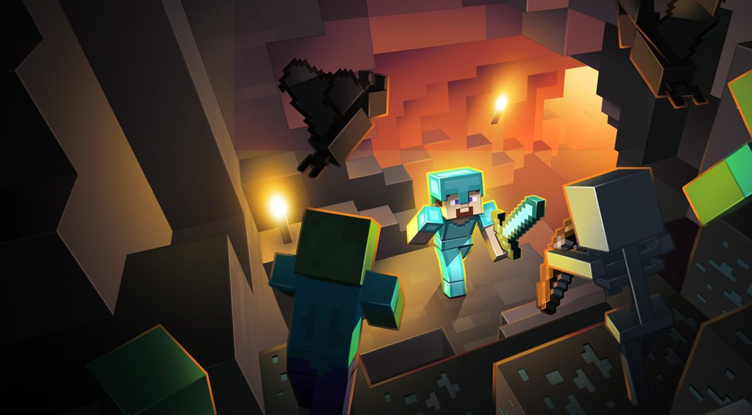 Minecraft PS4 Edition available now, with PS3 upgrade option!