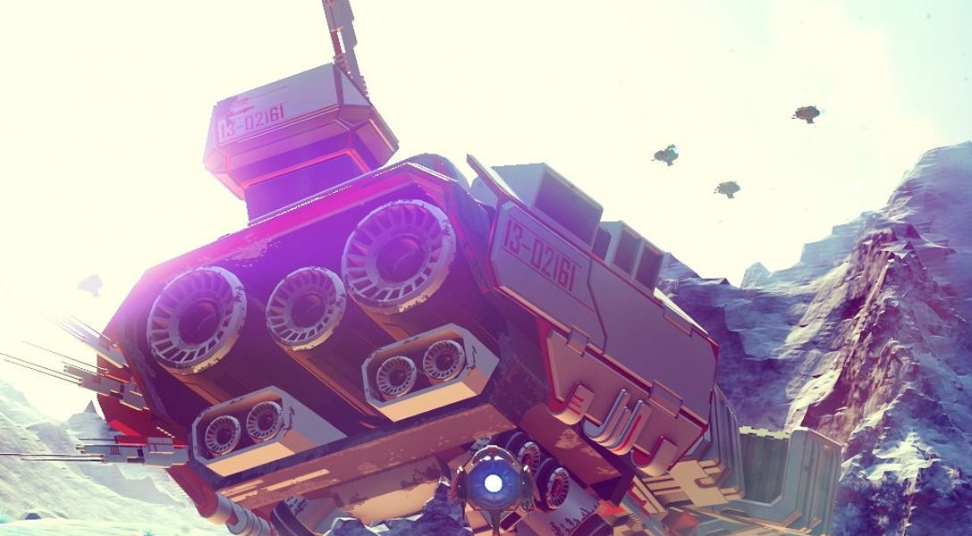 Interview: Why you'll want to explore the vast galaxy of No Man's Sky on PS4