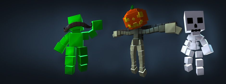 RESOGUN celebrates Halloween and Movember with new free DLC