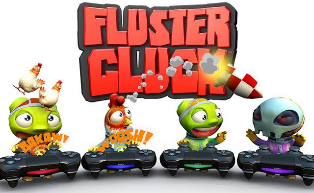 Fluster Cluck Out Today on PS4