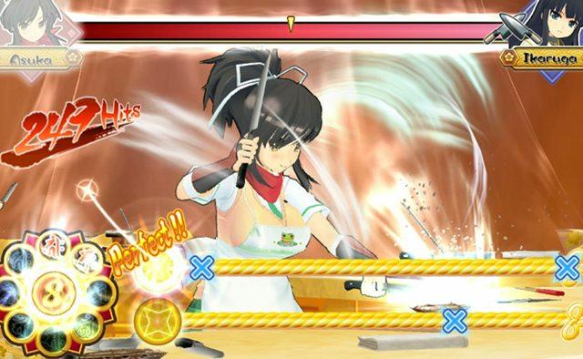 Senran Kagura Bon Appetit! Hits Vita Exclusively on 11/11