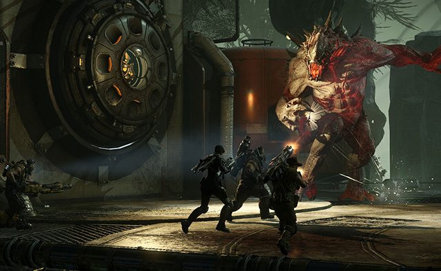 Play the Evolve Big Alpha on PS4 This Halloween