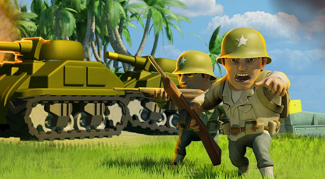 Free-to-play action strategy game Battle Islands marches on PS4 tomorrow