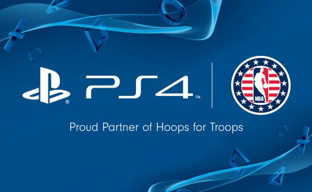 PlayStation Partners with NBA Cares Hoops for Troops