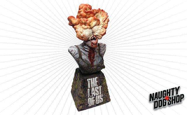 The Naughty Dog Shop: Clicker Bust Now Available
