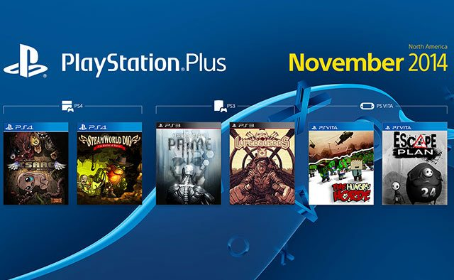 PS Plus: November's Free Game Lineup