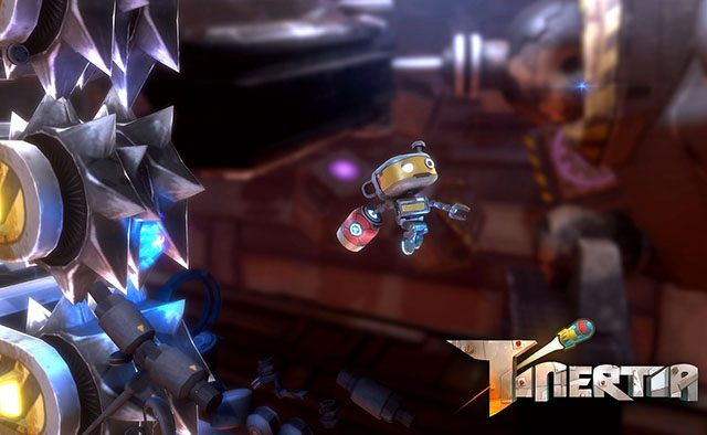 Tinertia is Rocket Jumping to PS4