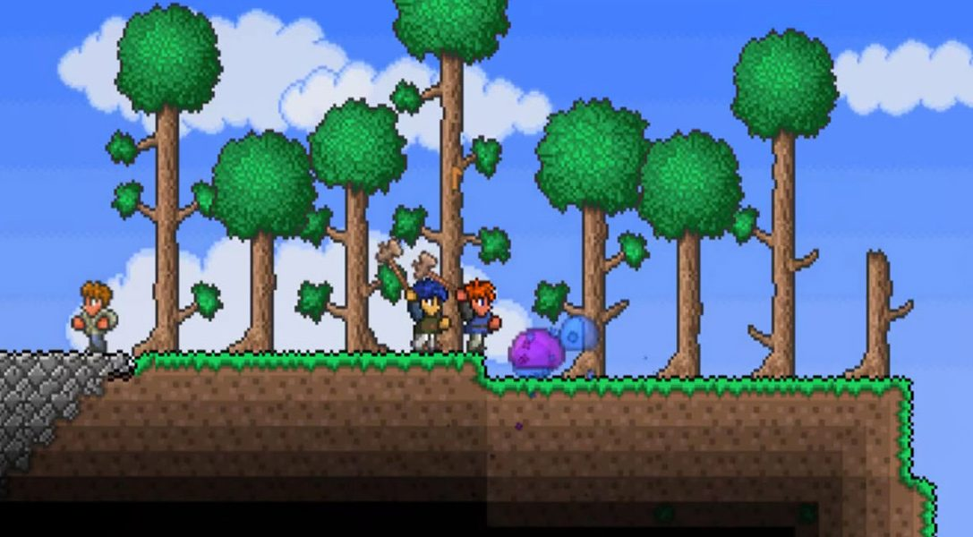 Terraria hits PS4 next week with a bigger world, new items & Cross-Play