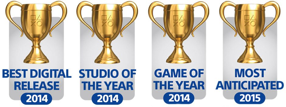 PlayStation Blog 2014 Game of the Year Awards winners revealed