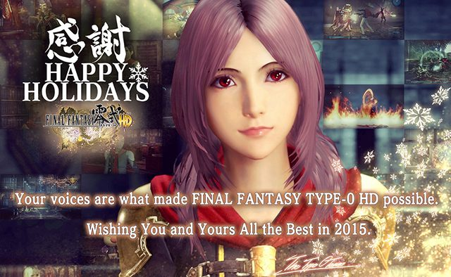 Happy Holidays from the Final Fantasy Team