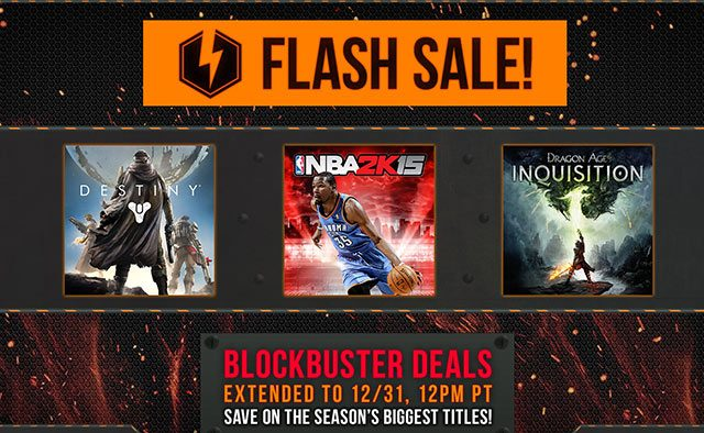 PlayStation Store Flash Sale and Holiday Sale Extended