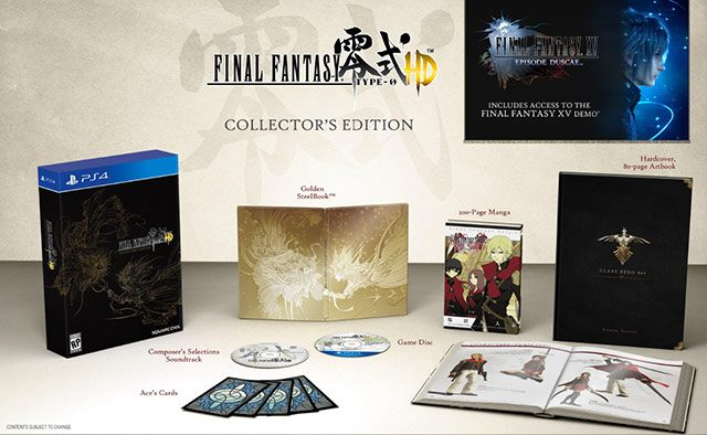 Final Fantasy Type-0 HD Collector's Edition Revealed