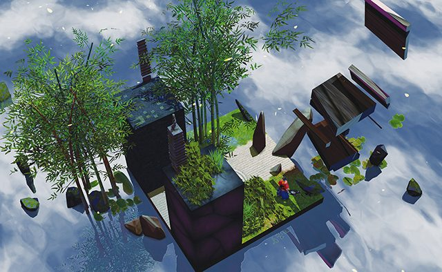 Miegakure: Exploring a 4D World on PS4