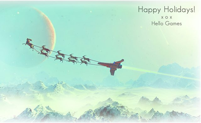 Happy Christmas From Hello Games!